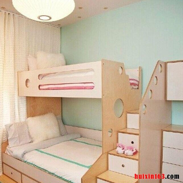上下铺儿童房设计案例赏析(一)