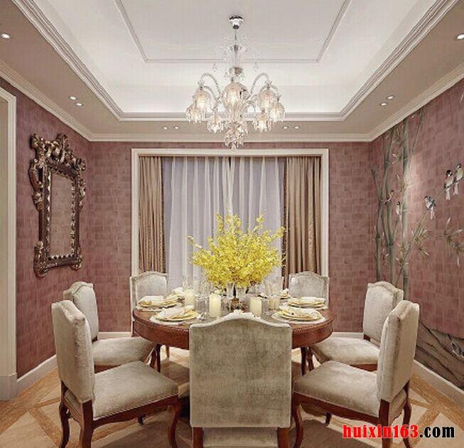 奢华大气欧式风格别墅装饰案例赏析