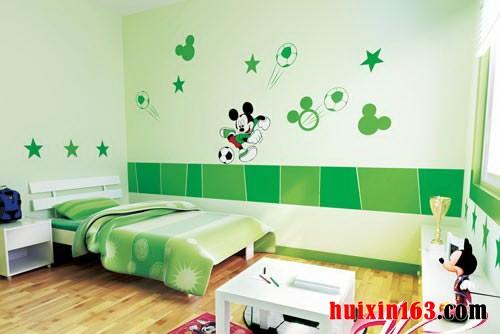 清新风格的童年色彩之家